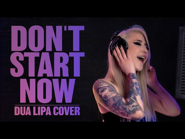 Dua Lipa - Don't Start Now feat. Jana Melody Miller (Band Cover)