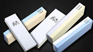 Камни для заточки ножей: как выбрать точильный брусок (видео)