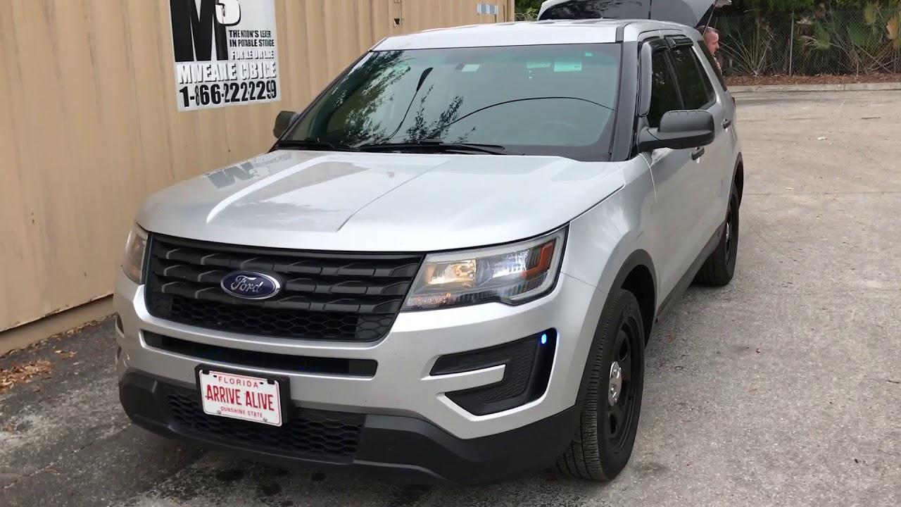 florida highway patrol unmarked lieutenants  ford explorer police utility youtube