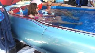 World's fastest hot tub. Carpool DeVille.