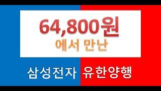 64,800원에서 만난 삼성전자 유한양행