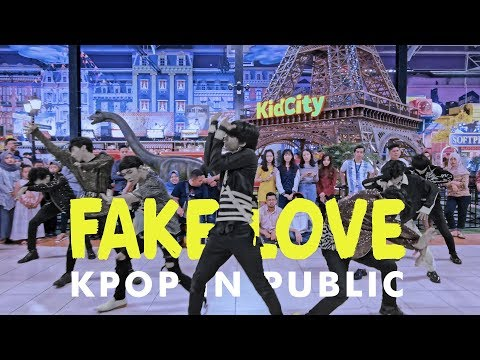 [KPOP IN PUBLIC CHALLENGE] BTS (방탄소년단)   'FAKE LOVE' Dance Cover by BYF from Indonesia