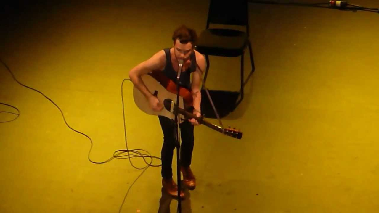 The Gardener By The Tallest Man On Earth Live In Seattle Youtube
