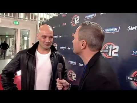 The Voice ´12: Rød løber interview med Clemens