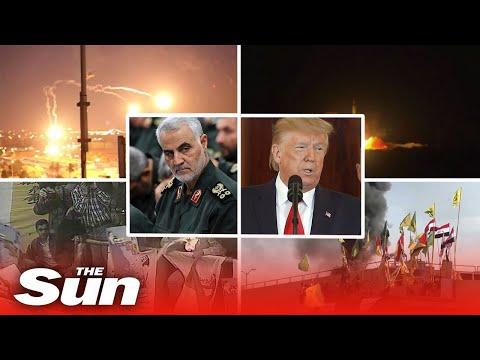 The history behind Donald Trump's Iran crisis