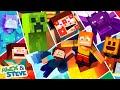 - MEGA MOVIE - Alex and Steve Life Minecraft Animation
