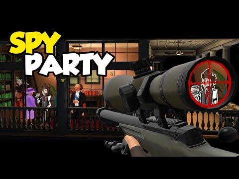 VYHRA AKO SPY?! [Spy Party] w Jawo