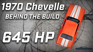 THE ORANGE ROD     The Story, the Build & the Burnouts of a 1970 Chevelle with 645 HP!