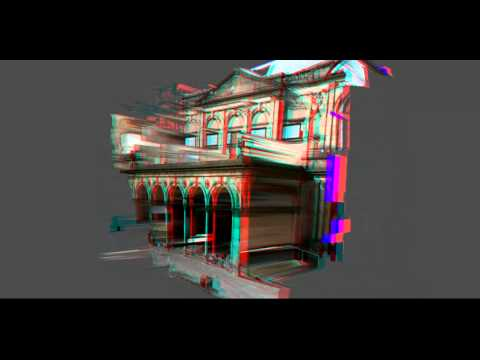 York Museum Stereopsis Video (Anaglyph)