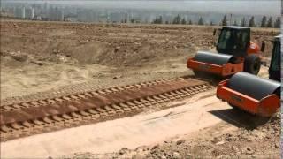 Стабилизатор грунта FAE MTH 225 и ресайклер Wirtgen WR2500(Сравнение производительности машин FAE MTH 225 и Wirtgen WR 2500 S. Работы производились в Туркмении в 2013 г. Стабилизаци..., 2014-08-18T09:51:30.000Z)