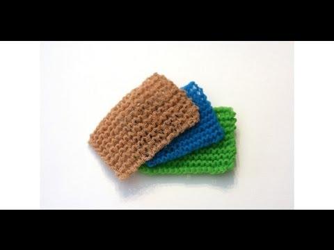 Knit The Worlds Best Kitchen Scrubbie Youtube