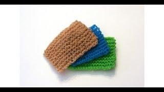 Knit the World's Best Kitchen Scrubbie