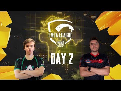 [RU] EMEA League   Day 2   PUBG MOBILE EMEA 2020