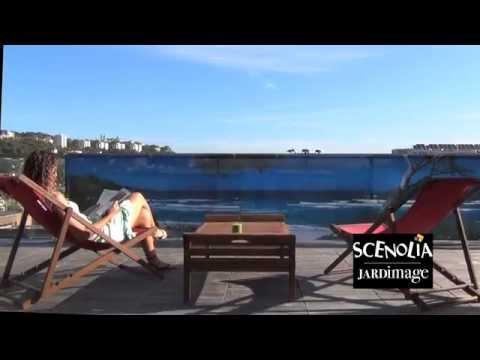 Le brise-vue imprimé Jardimage par Scenolia - YouTube