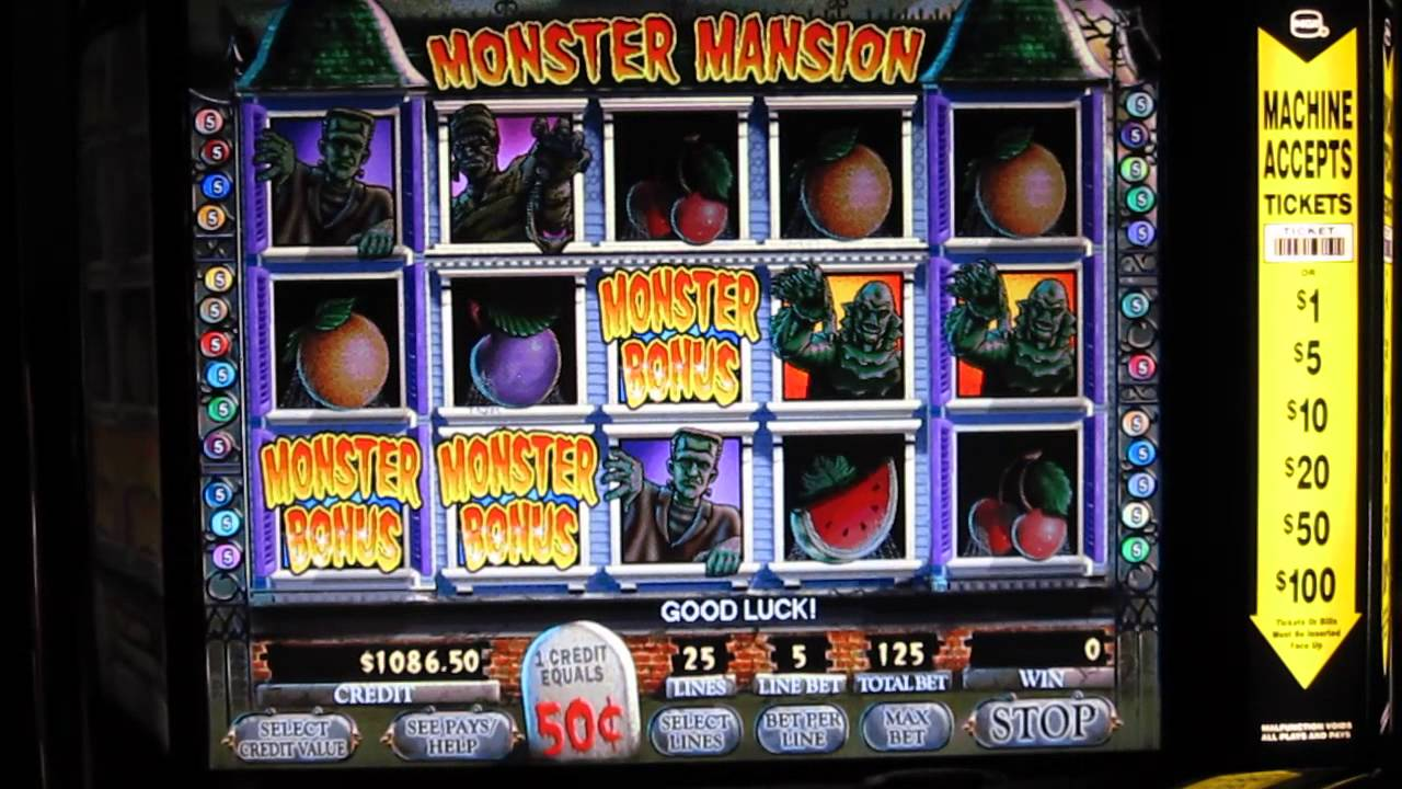 Monster Jackpots Slot Machine