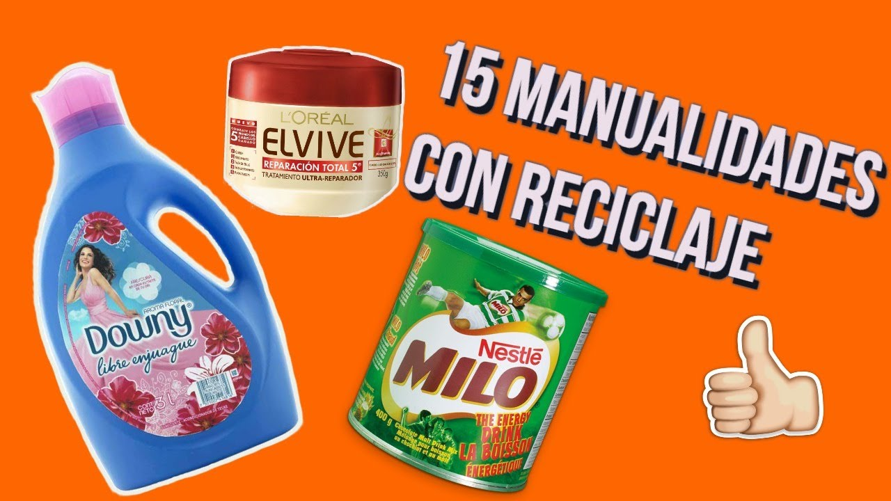 15 manualidades con reciclaje youtube - Manualidades en reciclaje de carton ...