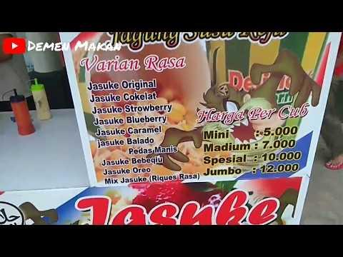 TERBARU DAN ENAK !! JASUKE ALIAS JAGUNG SUSU KEJU   NGABANG STREET FOOD #18
