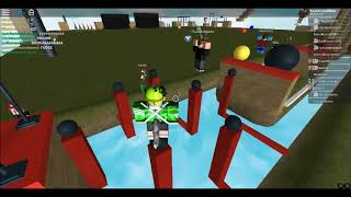 A Full Course Race at Ninja Warrior of Roblox 4