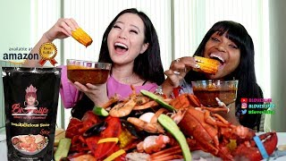 Smackalicious Seafood Boil with Stephanie Soo - First Pouch Taste Test