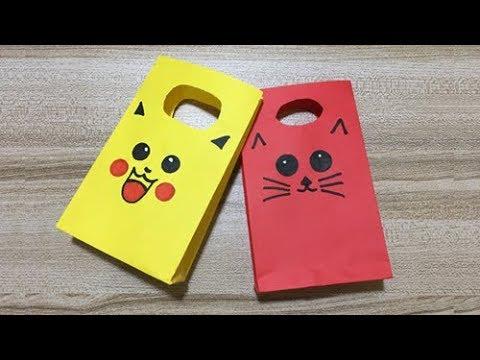 DIY Paper Bag New Decoration | Origami Paper Bag