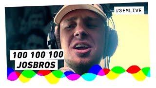 Josbros - 100 100 100 | 3FM Live