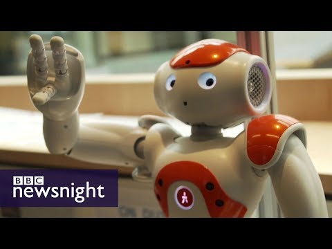A sneak peek inside Microsoft's AI research labs - BBC Newsnight