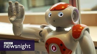 A sneak peek inside Microsoft's AI research labs - BBC Newsnight