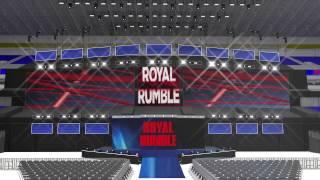 wwe royal rumble 2017 pyro concept animation