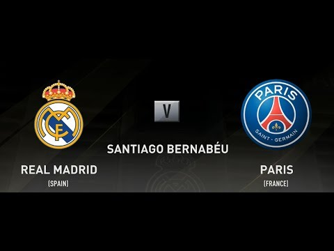FIFA 18 REAL MADRID VS PSG XBOX ONE S PS4 PC FULL MATCH GAMEPLAY IN HD
