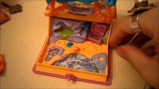 Vintage Polly Pocket collection: Enchated Story Books Part 1