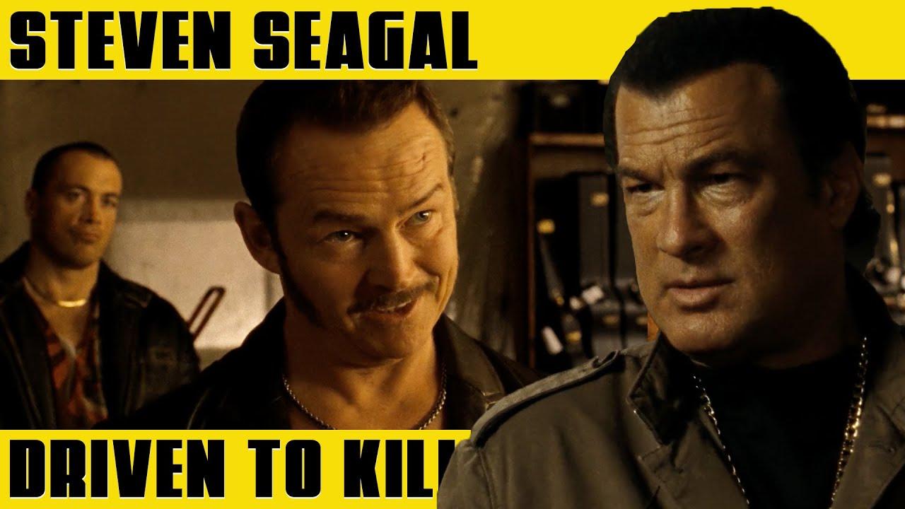 STEVEN SEAGAL Buying a Gun | DRIVEN TO KILL (2009)