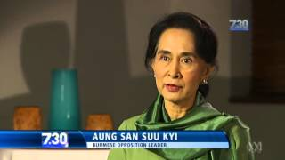 Aung San Suu Kyi calls for