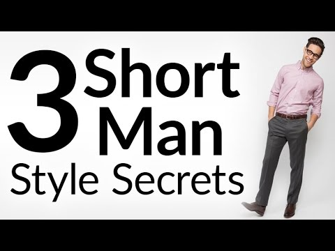 3 Short Man Style Secrets | How to Dress Taller | Stylish Advice For Not-So-Tall Men | Peter Manning