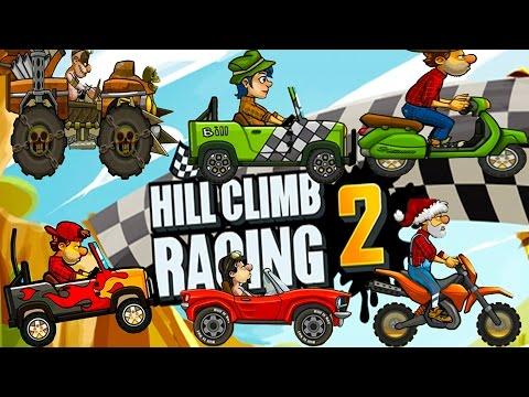 top 4 vehicles hill climb racing 2 full upgrade hack. Black Bedroom Furniture Sets. Home Design Ideas