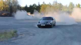 Дрифт Бобруйск Мерседес 210 Mercedes Benz