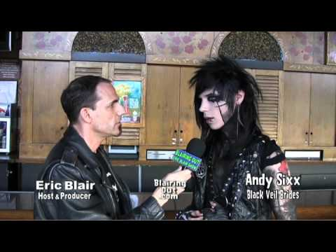 BLACK VEIL BRIDES Andy Sixx Talks To Eric Blair About Love,Peace And Suicide