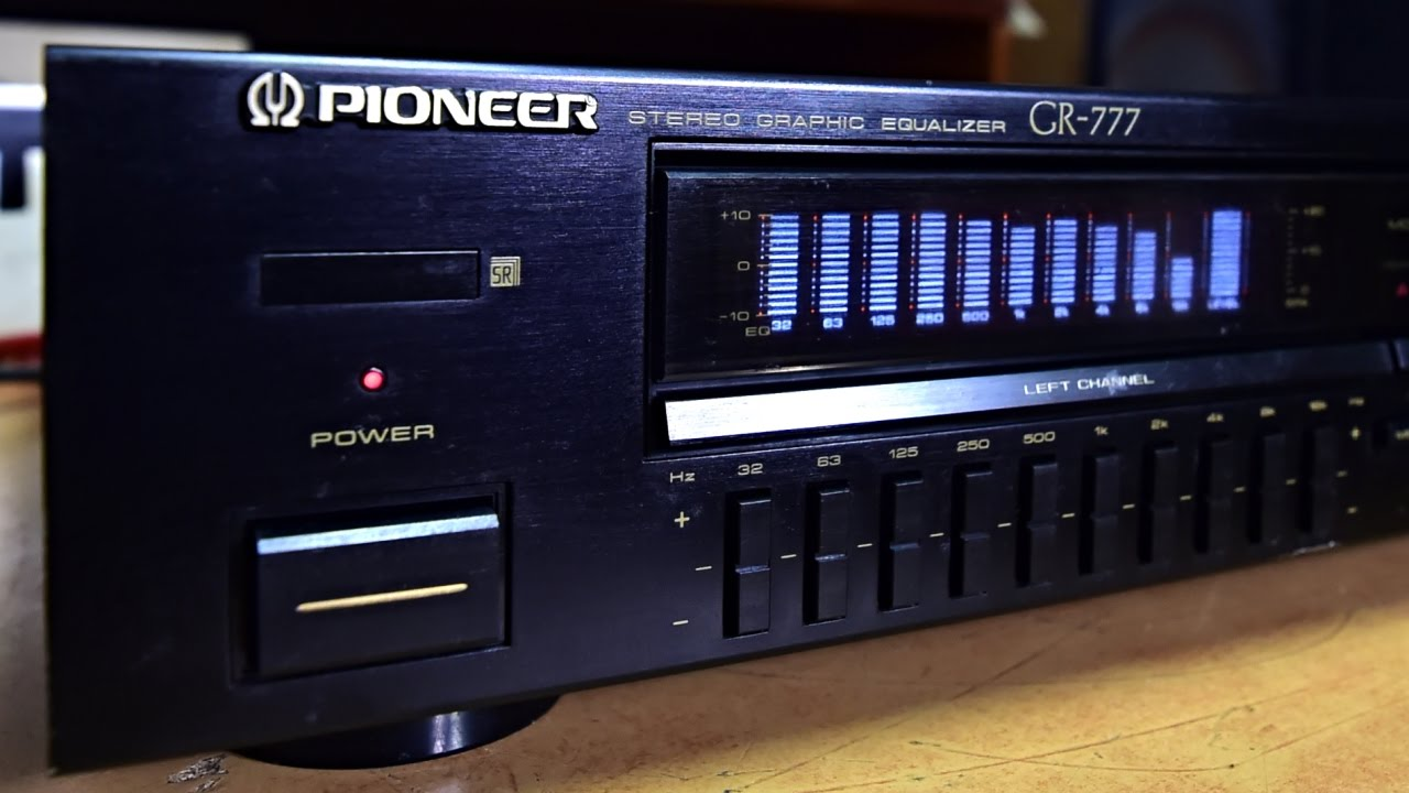 manual de equalizador pioneer gr 777