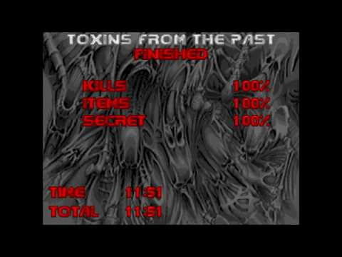 Doom 2 | Relentless Evil | Level 18: Toxins From The Past (Not Too Rough + Commentary)