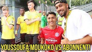 Youssoufa Moukoko BVB Wunderkind VS Abonnent Fussballspiel!