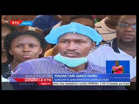 Jukwaa la KTN: Madakatari waachiliwa huru huku Wakenya wakikaribisha uamuzi huo, 15,02,17 Pt 1