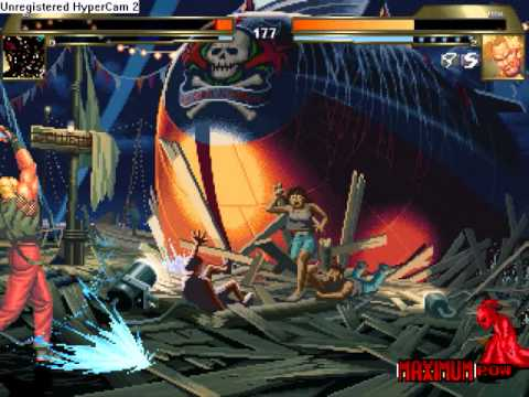 Mugen Tournament # Demi-finale # Buu vs Rugal