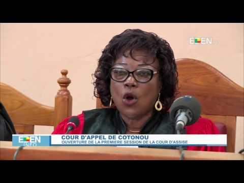 Cour d'appel de Cotonou : Ouverture de la première session de la cour d'assise