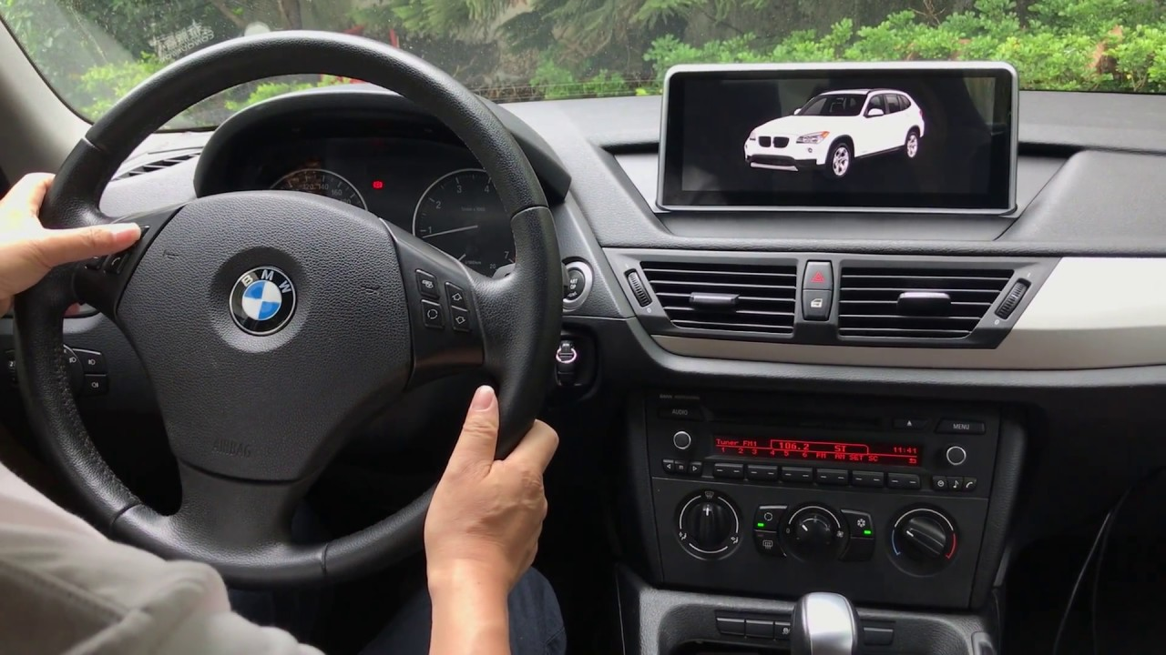 Installation Adding Android Navigation And Backup Camera Bmw X1 Youtube