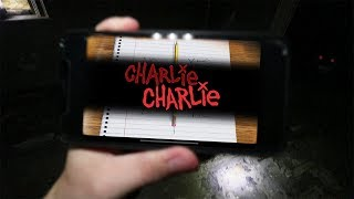 DO NOT PLAY CHARLIE CHARLIE AT 3 AM!! *something was watching us*