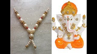 DIY: How to make Ganesh puja mala at home