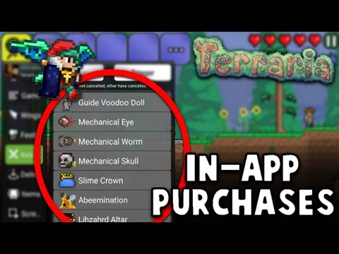 TERRARIA 1.2.4 HOW TO GET ALL IN-APP PURCHASES FOR FREE ON GG TOOLBOX (ANDROID)
