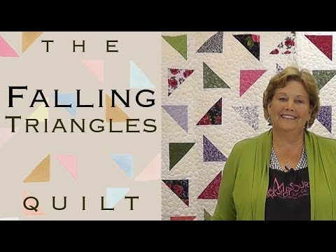The Falling Triangles Quilt: Easy Quilting With Layer