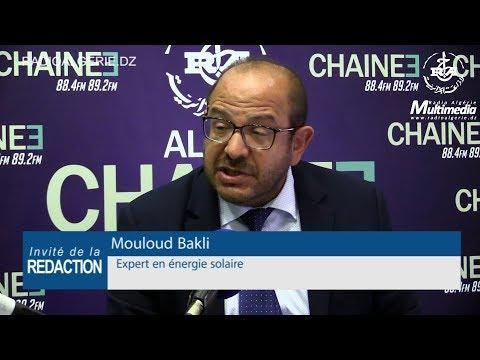 Mouloud Bakli expert en énergie solaire