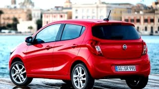Тест-драйв.  Opel Karl.  Новинки авто 2015-2016