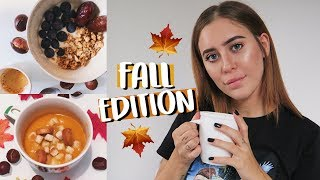 WHAT I EAT IN A DAY: FALL EDITION | cleotoms